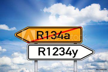 Obsługa samochodów znowym gazem 1234F